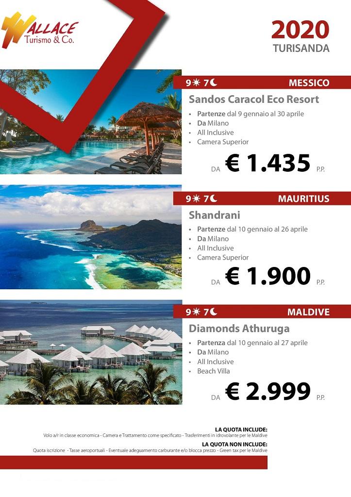 turisanda-caraibi-messico-maldive-mauritius-oceano indiano-vacanze-lastminute-agenzia-viaggi-torino-centro-porta-nuova
